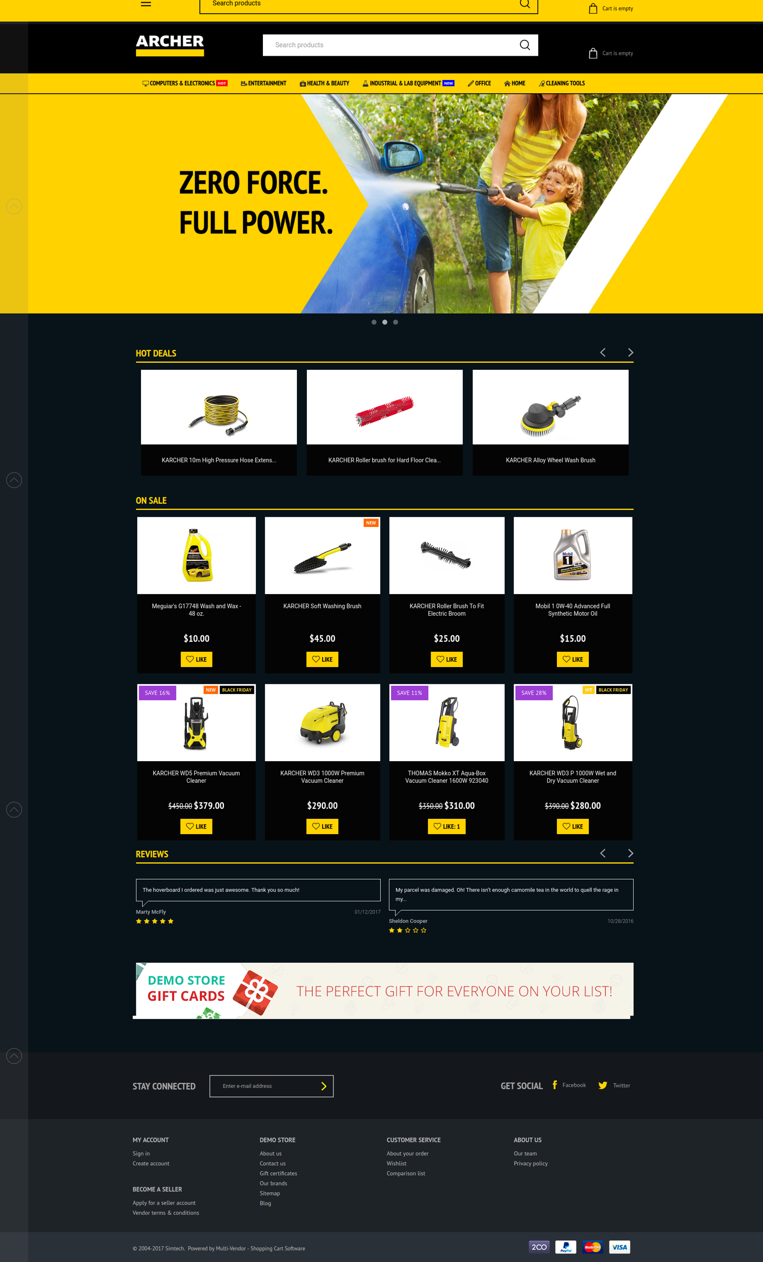 archer_theme_front_pack_homepage