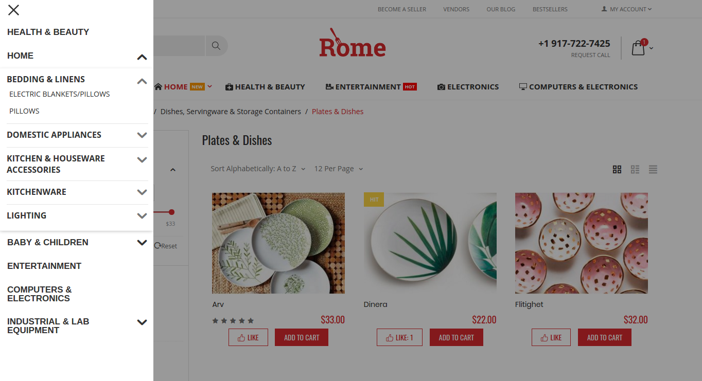 rome-theme-hamburger-menu