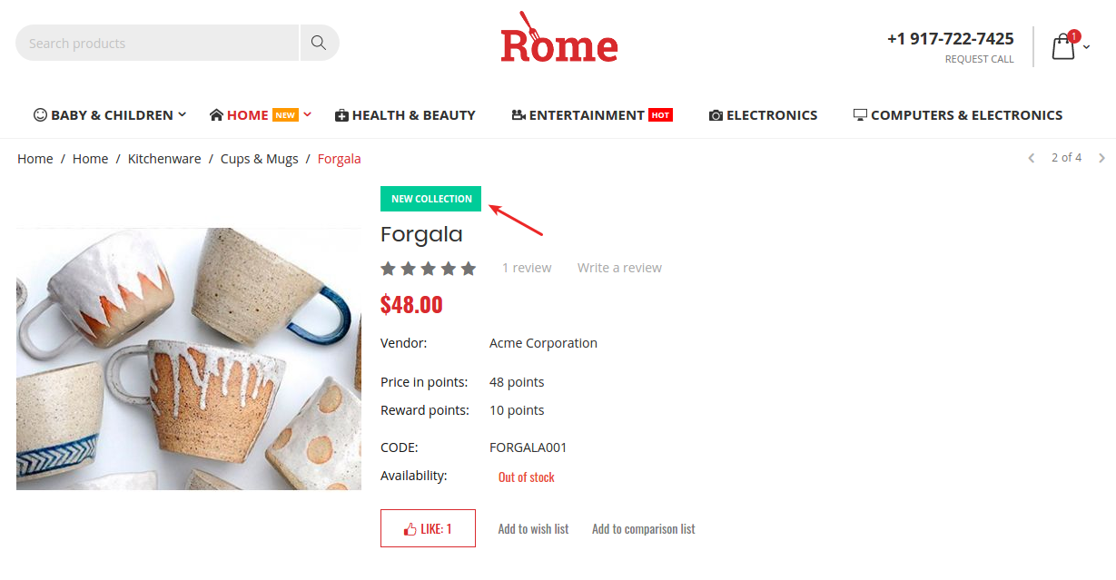 rome-theme-product-labels