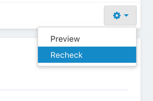 option_to_start_a_process_for_rechecking_the_page