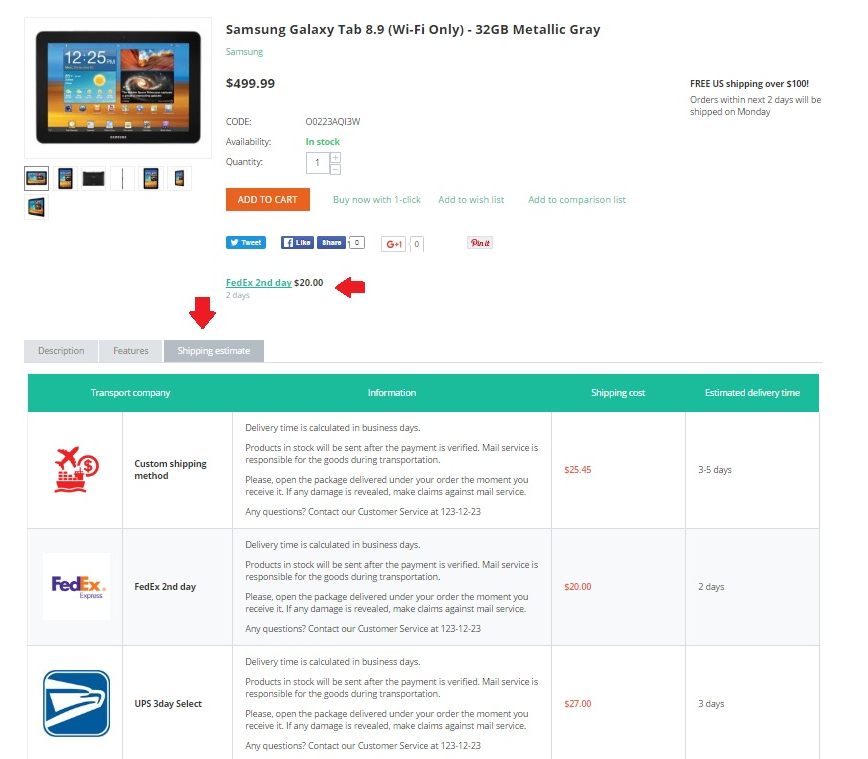 shipping-estimate-product-page