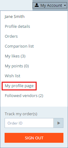 User_profile_page