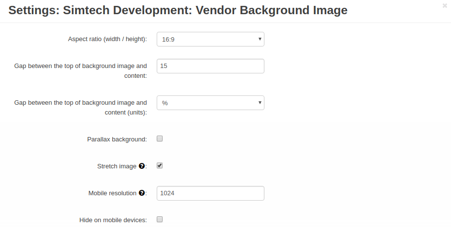 vendor-background-image-settings