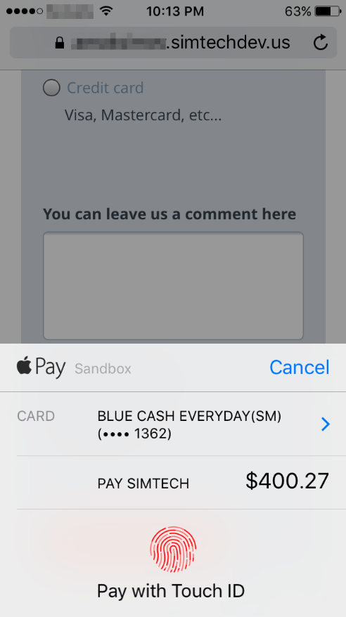 Apple and Google Pay Payment Gateway for CS-Cart