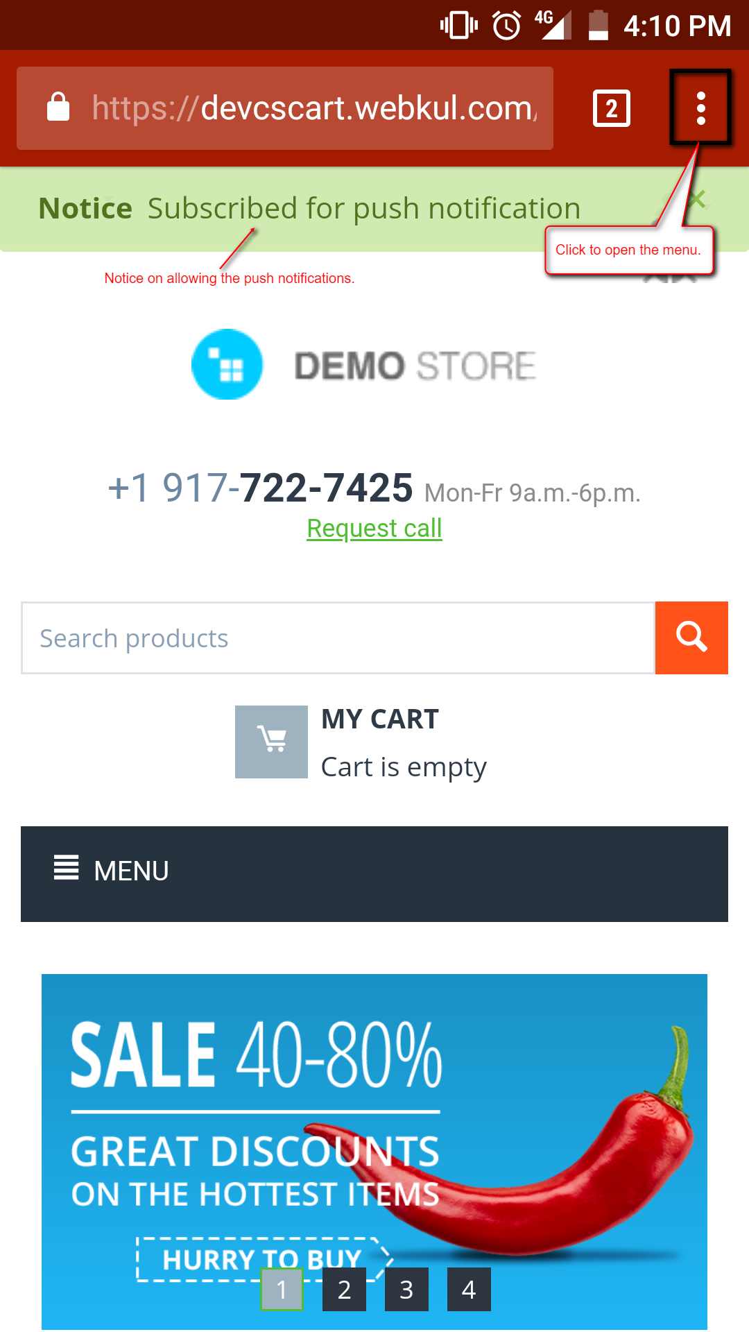 Progressive Web Application | CS-Cart PWA
