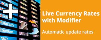 Live Currency Exchange Rates Synchronisation With Modifier