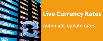Live Currency Exchange Rates Synchronisation