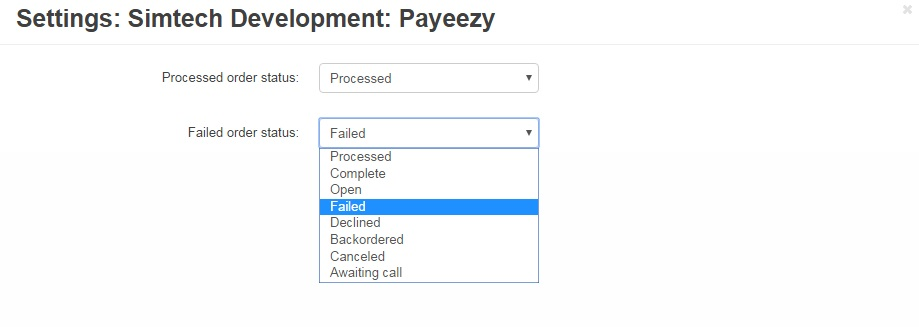 Add-ons :: Integrations :: Payeezy Payment Gateway