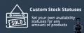 CS-Cart Custom Stock Statuses