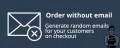 CS-Cart Order without email Add-on