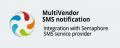 CS-Cart sms  notification Semaphore