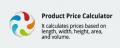 CS-Cart add-on Product Price Calculator