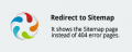 REdirect to Sitemap CS-Cart add-on