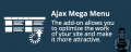"CS-Cart ""Ajax Mega Menu"" add-on"