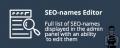 SEO-names Editor for CS-Cart