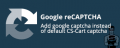 "CS-Cart ""Google reCAPTCHA"" add-on"