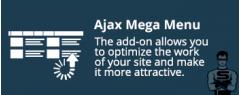 "CS-Cart Модуль ""Ajax мега меню"""