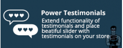 """CS-Cart """"Power Testimonials"""" add-on"""