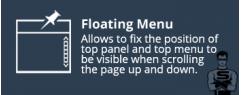 Закрепить меню на странице