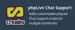 phpLive Support Chat for CS-Cart