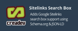 SEO Google Sitelinks Search Box Rich Snippet