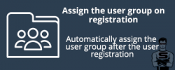 Assign user group on registration