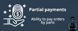 Partial payments
