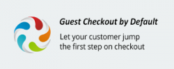 guest checkout by default cs-cart
