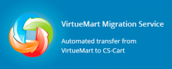 VirtueMart to CS-Cart migration