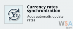 Currency rates synchronization