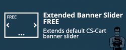 "CS-Cart ""Extended Banner Slider FREE"" add-on"