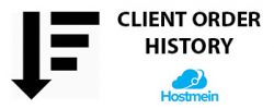 Client Oder History for CS-CART