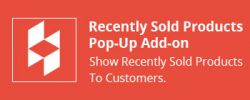 CS-Cart Recently Sold Products Pop-Up Add-on