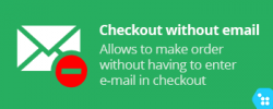 CS-Cart - Checkout order without email
