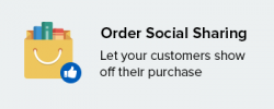 Order Social Sharing add-on