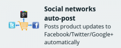 Social auto-post add-on for CS-Cart