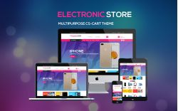 Electronic Store - Multipurpose CS-Cart Theme