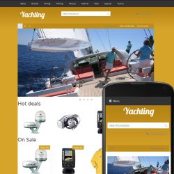 Theme River Yachting Ochre