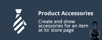 CS-Cart Product Accessories Add-on