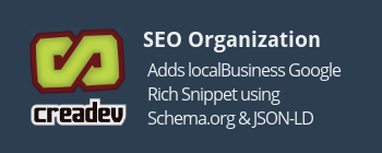SEO Structured Data for Organizations & Local Businesses