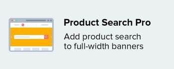 Product Search Pro add-on
