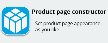product page constructor