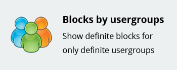Block by usergroups