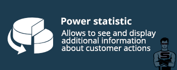 "CS-Cart ""Power statistics"" add-on"