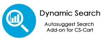 Dynamic Search – Autosuggest Search Add-on for CS-Cart. Version 1.0