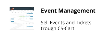 cs cart event management