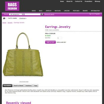 Product - CS-Cart Theme cs000005 Bags Lilac