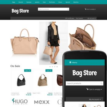Theme Streets Bags Azure