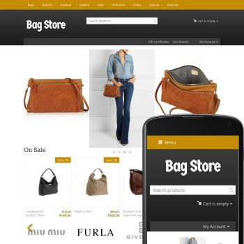 Theme Streets Bags Ochre