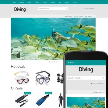 Theme River Diving Azure
